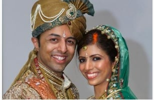 Shrien Dewani  and his wife Anni.