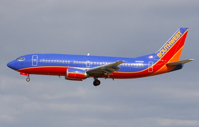 Southwest flight