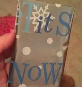 Wrapping fail 1 tits now