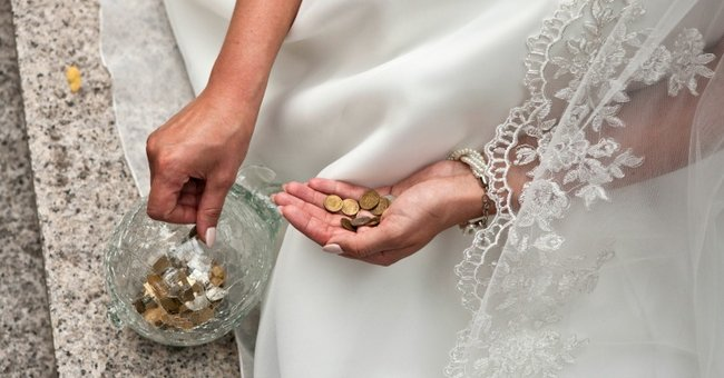 how to ask for cash for wedding