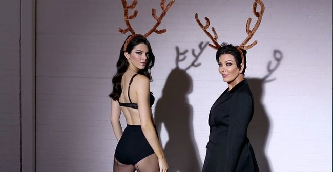 KENDALL and kris jenner love magazine