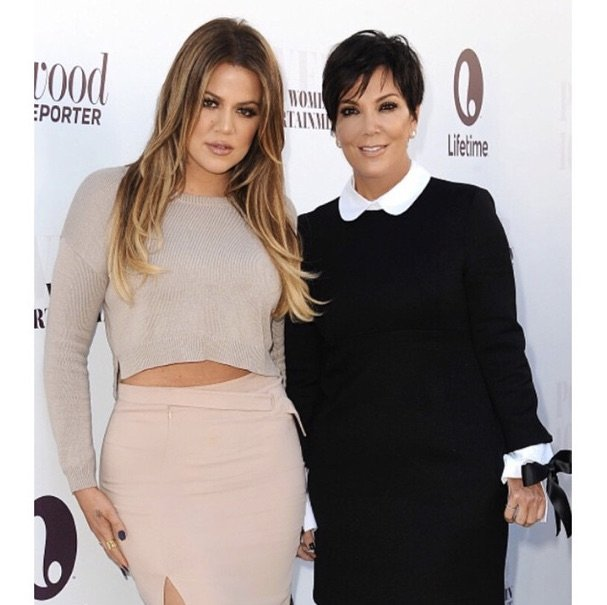 kris and khloe insta