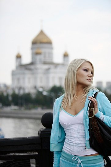 "Women attend classes in Russia now to learn how to become ""gold diggers"". (Note: This is a stock image.)"