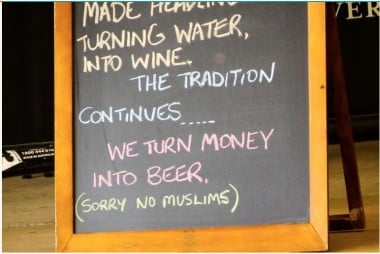 The sign from the Longreach Cafe.