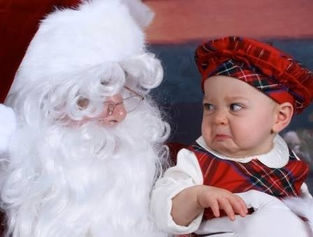 santa photos gone wrong