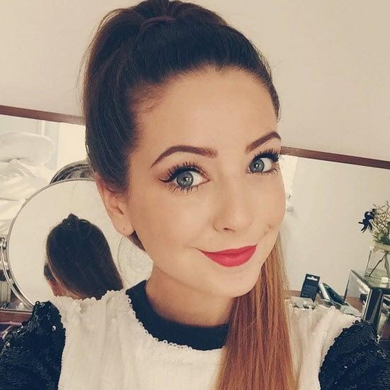 beauty blogger Zoella