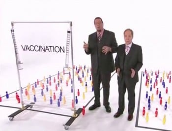 Show this video to anyone who tells you that vaccines cause autism.