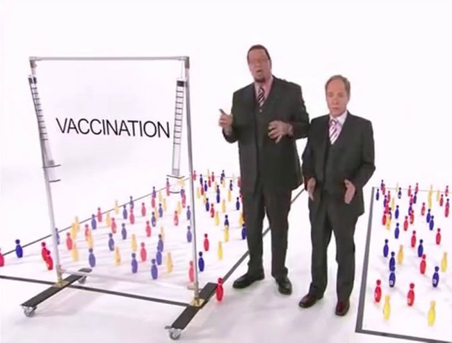 Penn and Teller on vaccination lead resize