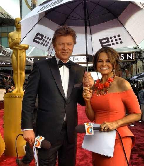 Lisa Wilkinson and Richard Wilkins from the Today Show