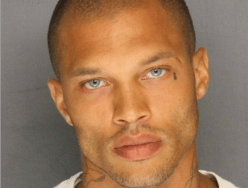 Remember the hot mugshot guy? This is where he is now.