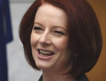 Julia Gillard, Australia's first female Prime Minister
