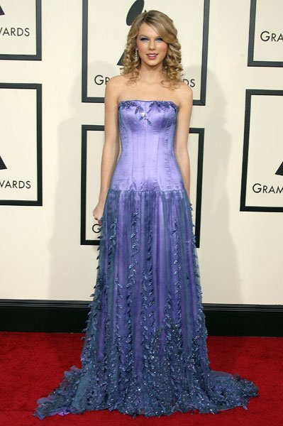 Taylor Swift at the 2008 Grammys