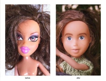 Bratz dolls get a huge make-under. And damn it suits them.