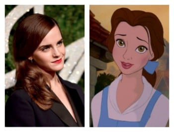Emma Watson cast as Disney princess. Fans can