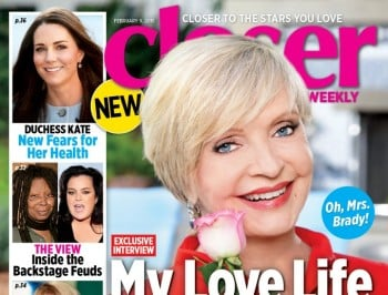80-year-old Florence Henderson talks about her sex life. Makes prudes of all of us.