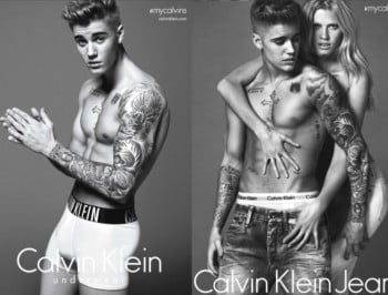 Celebrities have their faces photoshopped on Justin Bieber