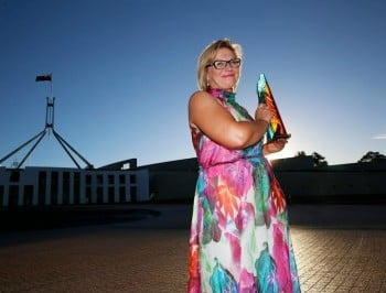 Rosie Batty just did something incredible for victims of domestic violence.