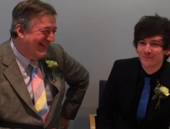 stephen fry married FB