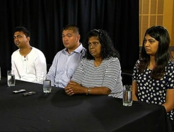 Bali Nine families speak of their grief and plead to Tony Abbott for help.