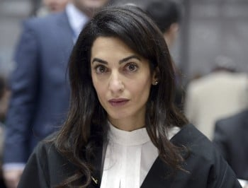 The embarrassing Associated Press tweet about Amal Clooney