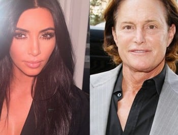 Kim Kardashian addresses Bruce Jenner transitioning rumours.