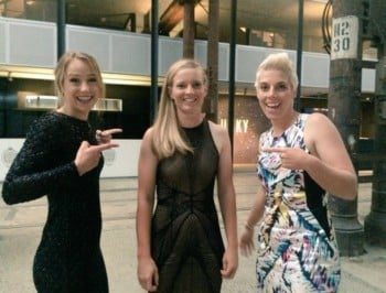 (JR) SAT - Forget the WAGs at the Allan Border Medal. How about our female cricketers?