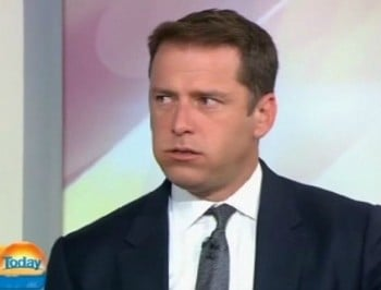 Karl Stefanovic eats the world