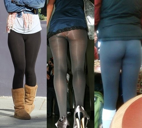 Chrissy in Nike Legendary Tight Fit Pants: Hot tip: If you're gonna wear yoga pants to work, just make sure to pair 'em with a longer top or dress because your vag can become fully, um, defined if.