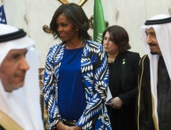 Bravo Michelle Obama. Cultural sensitivity no excuse for oppressing women.