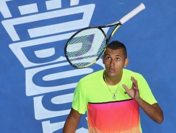 Nick Kyrgios gives no shits. And we love him for it.