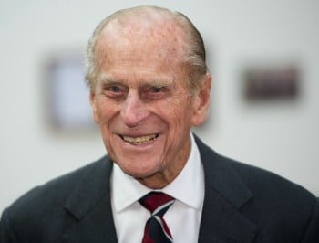 For his glorious service to racist gaffes and crankiness, the PM dubs Prince Phillip a Knight.