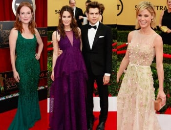 Live: The SAG Awards are on now and the red carpet is red hot.