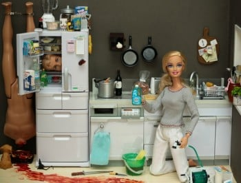 Barbie has a new job that would haunt the dreams of any 9-year-old child.