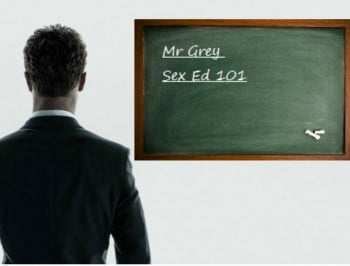Genuine question: Should Fifty Shades of Grey be shown in schools?