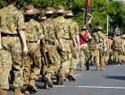 Australian military troops army