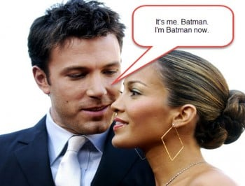 8 things Ben Affleck probably whispered to J.Lo at The Oscars.