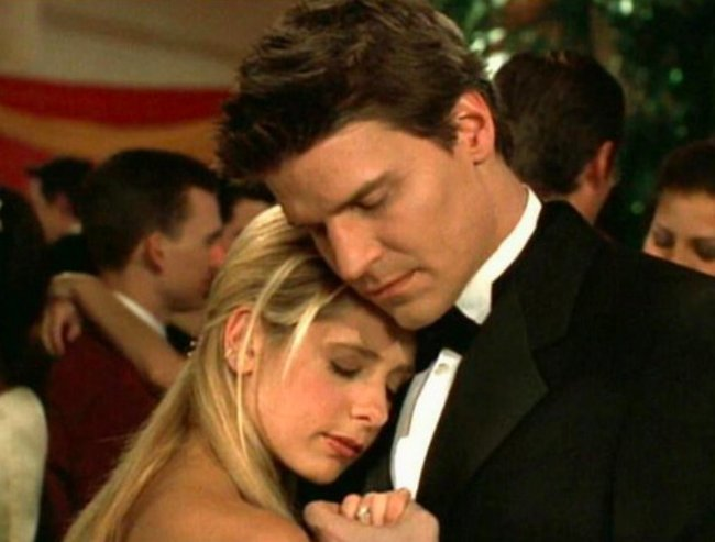 Buffy and Angel - Buffy the Vampire Slayer.