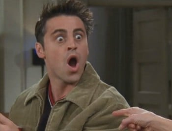 Friends with benefits: We finally know how much money Joey owes Chandler.
