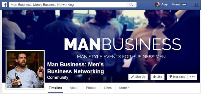 Man Business FB page