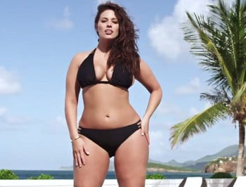 Sports Illustrated features 'plus-size' model for the first time EVER.