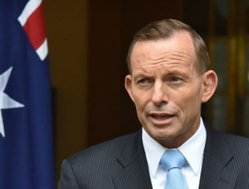 "Tony Abbott wants to raise family violence ""awareness""... while cutting funding for support services."