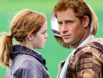 Emma Watson and Prince Harry go on