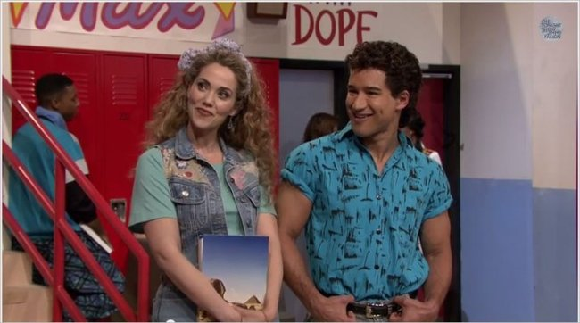 Saved by the Bell - Jessie and Slater