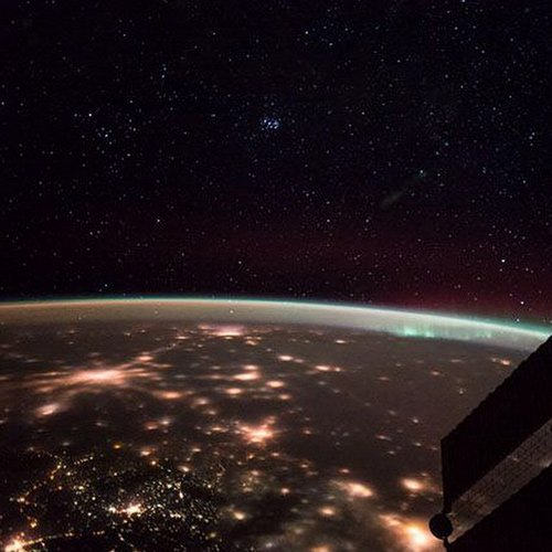 selfies from space