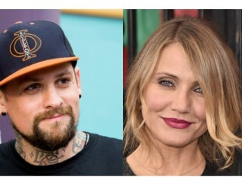 Benji Madden just got an enormous Cameron Diaz tattoo.