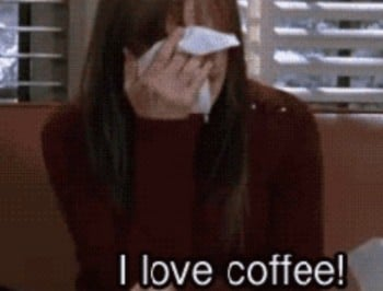 "Confession: ""I spend $3650 per year on coffee, and I"