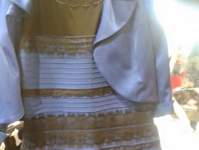 is this dress gold and white or blue and black