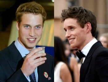prince william eddie redmayne