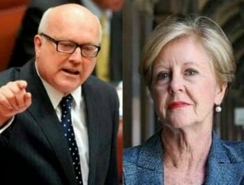 "BREAKING: The Senate has declared George Brandis ""unfit for office""."