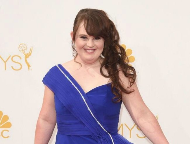 jamie brewer down syndrome model